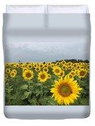 Love My Sunflowers Duvet Cover