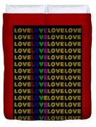 Love Neon 1 Duvet Cover