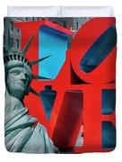 Love New York Duvet Cover