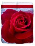 Love Red Rose Duvet Cover