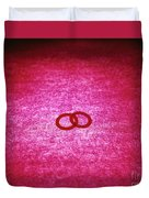 Love Rings Duvet Cover