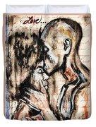 Love Story Duvet Cover