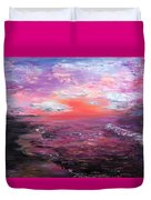 Love Sunsets And Dawns Duvet Cover