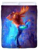 Love To Dance Duvet Cover