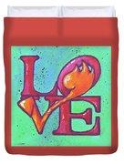 Love Tulips Duvet Cover