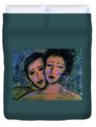 Love You Dearly Duvet Cover