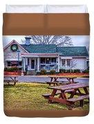 Loveless Cafe Duvet Cover