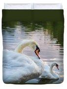 Lovely Couple Duvet Cover