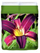 Lovely Day Lily Duvet Cover
