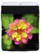 Lovely Lantana Duvet Cover