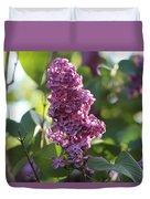 Lovely Lilac Duvet Cover