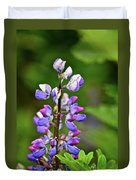 Lovely Lupine Duvet Cover