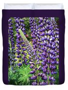 Lovely Lupines Duvet Cover