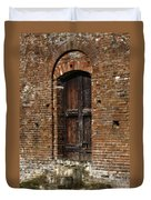 Lovely Old Door Duvet Cover