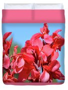 Lovely Pink Flowers  Duvet Cover