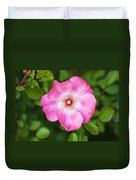 Lovely Pink Rose Duvet Cover