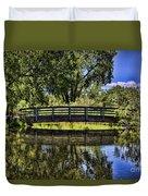 Lovers Bridge Duvet Cover