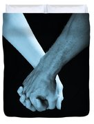 Lovers Hands Duvet Cover