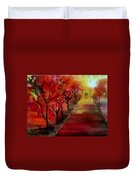 Lovers' Lane Duvet Cover