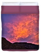 Lover's Sky Duvet Cover