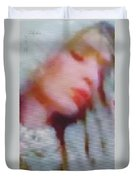Love's Barefoot Shepherdess Duvet Cover