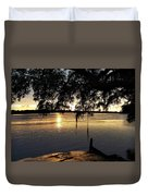 Low Country Sunset Duvet Cover