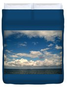 Low Hanging Clouds Duvet Cover