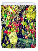 Low Hanging Fruit Duvet Cover