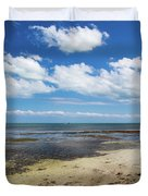 Low Tide In Paradise - Key West Duvet Cover