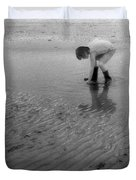 Low Tide Pool Two  Duvet Cover