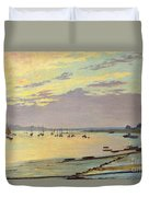 Low Tide Duvet Cover by W Savage Cooper