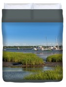 Lowcountry Blue Skies Duvet Cover