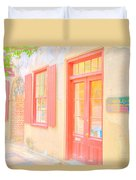 Lowcountry Catfish Row Duvet Cover