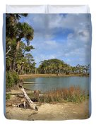 Lowcountry Lagoon Duvet Cover