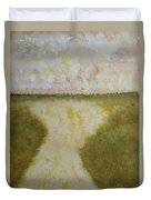Lowcountry Marsh Original Painting Duvet Cover