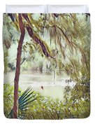Lowcountry Summer Duvet Cover