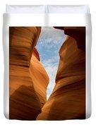 Lower Antelope Slot Canyon, Page, Arizona Duvet Cover