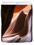 Lower Antelope Slot Canyon Duvet Cover