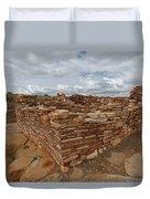 Lower Box Canyon Ruin Duvet Cover