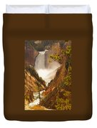 Lower Falls From Artists Viewpoint Duvet Cover