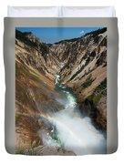Lower Falls Rainbow Duvet Cover