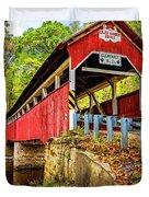 Lower Humbert Covered Bridge 2 Duvet Cover