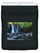 Lower Johnson Falls Duvet Cover