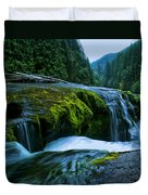 Lower Lewis Falls 1 Duvet Cover