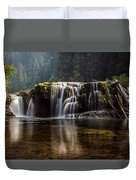Lower Lewis Falls Duvet Cover