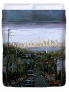 Lower Manhattan 2002 Duvet Cover