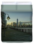Lower Manhattan Duvet Cover