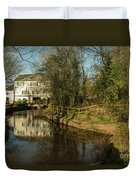 Lower Mill Of Cullompton  Duvet Cover