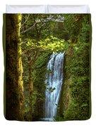 Lower Multanomah Falls, Oregon Duvet Cover