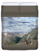 Lower North Eolus From The Catwalk - Chicago Basin - Weminuche Wilderness - Colorado Duvet Cover